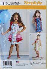 Simplicity 1119 Girls Childhood Treasures Dresses Sewing Pattern Sz 3-8