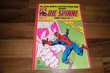 SPINNE / SPIDER-MAN -- Condor-Comic-Album Nr  # 4 // Illus. u.a. John Buscema
