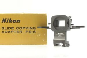 【 Near Mint in Box 】 Nikon PS-6 Slide Copying Adapter For PB-6 from JAPAN #386