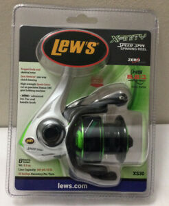 NEW LEWS XFINITY SPEED SPIN FISHING REEL XS30 Sealed (E6)