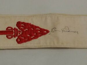 Vintage signed Boy Scouts Order of the Arrow  Sash BSA