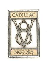 1929 Cadillac V8 Headlight Bar Emblem Badge