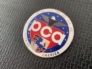 PCA Porsche Club of America Plakette , Badge - Original