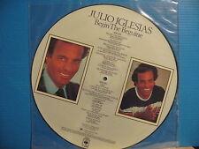 JULIO IGLESIAS Begin the Beguine LP picture disc-free uk post!