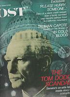 Saturday Evening Post January 13 1968 Truman Capote Tom Dodd