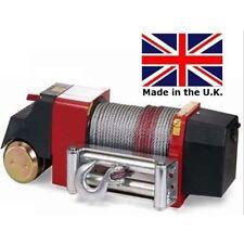 Industrial Winch - Hawse - 12 Volt Dc - 4.2 Hp - 10,000 Lb Cap - 90 Ft Cable
