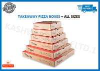 "Pizza Boxes Takeaway Cake Strong Quality Brown 7"" - 14"" inch Lot Bulk Discount"