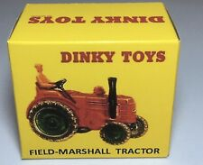 Dinky 301 Field-Marshall Tractor Empty Repro Box Only