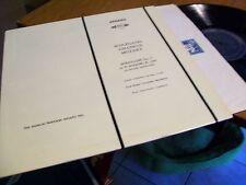 WOLFGANG AMADEUS MOZART SERENADE NO.7 IN D MAJOR MHS # 756 STEREO RECORD ALBUM