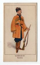 Original UK Scarce Trade Card Kings Specialities War Series Cossack Russia