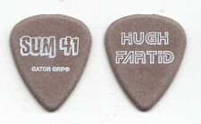 "Sum 41 Dave ""Brownsound"" Baksh Hugh Fartid Brown Guitar Pick - 2003 Tour"