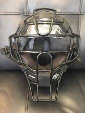 Diamond DFM-UMP Umpire Face Mask Adult  Baseball/Softball Black