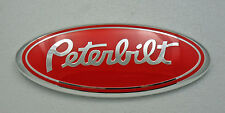 New Ford F150 05-14 Grille / Tailgate Emblem PETERBILT Oval Badge 2nds Free Ship