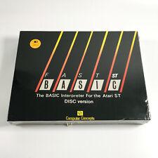 FAST BASIC Interpreter - Atari ST DISC Version - FACTORY SEALED / NEW OLD STOCK