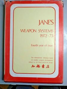 Jane's Weapon Systems 1972-73 Edited by  Petty & Archer Excellent RED PRICE