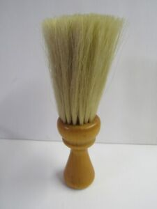 Antique English Valet Clothing Brush With Wooden Handle