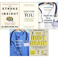 The Idiot brain, my stroke, doctor you, trust me and where does it hurt NEW