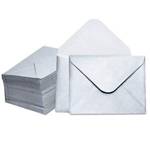 Gift Card Envelopes - 100-Count Mini Envelopes, Paper Business Card Envelopes, 4