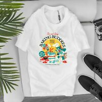 Tom and Jerry Baking Buddies Unisex T-shirt