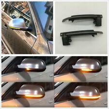 2pcs Dynamic Mirror Blinker LED Light Side Turn Signal Indicator For A3 S3 8P B8