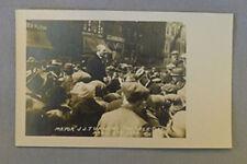 Original 1924 Marble Day Peterborough Ontario Mayor J.J.Turners Photo Postcard