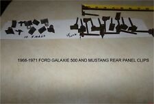 NOS 1968-1971 FORD GALAXIE 500 & MUSTANG REAR PANEL MOLDING CLIPS 25 CLIPS