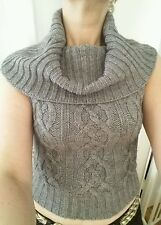 CUTE PILOT CROPPED COWL NECK JUMPER S/M WORN ONCE