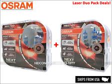 OSRAM Night Breaker Laser 2 SETS - H11 + HB3 (9005) 64211NL 9005NL Duo Pack 150%