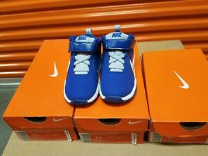 Nike Team Hustle (TD) Gym Blue Toddler [599189-401]