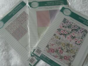 Tattered Lace, Stephanie Gentle Touch die-cut flowers kit, vellums, card, flower