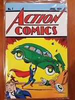 Loot Crate Exclusive Action Comics No 1 Superman Unopened Reprint NEW! w COA