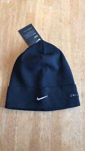 Nike Dri-Fit Cuffed Beanie Knit Hat Cap Black AH0002-010 Adult Unisex Men Women