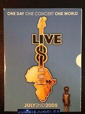 LIVE 8 CONCERT 4 Disc Set FREE POST Region 4 DVD Elton John, Pink Floyd