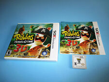 Rabbids: Travel in Time 3D (Nintendo 3DS) XL 2DS Game w/Case & Manual