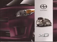 2012 12 Scion XD  Accessories  Sales brochure