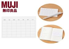 MUJI Monthly Planing Sticky Memo 13 Sheets