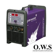 Parweld XTT202 ac/dc 200A tig inverter + lampe + régulateur + chariot + commères