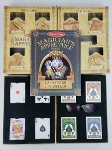 Melissa & Doug Magician's Apprentice Volume 1 Card Tricks Unshuffled COMPLETE