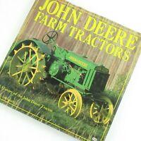 John Deere Farm Tractors Company History Hardback Book Dust Jacket Photographs