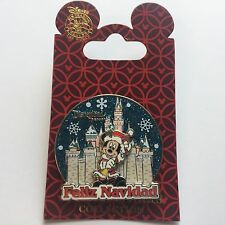 DLR - Feliz Navidad Mickey Mouse Disney Pin 74957