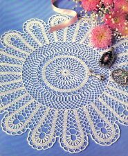New listing Lacy Veracity Doily/Crochet Pattern Instructions Only