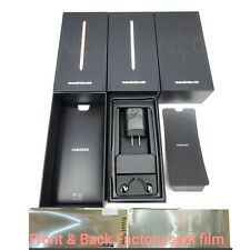 Samsung Galaxy Note 20 Ultra Empty Retail box Full Accessories Screen SEAL