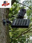 Trail Camera Solar Panel 8000mAh Supporting 3 Voltages 12V/1.2A 9V/1.6A 6V/2.4A