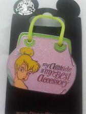 Tinker Bell Purse Disney Pin New On Card