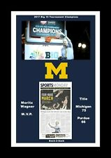 MATTED CHAMPIONS PHOTO SHOULD BE MICHIGAN WOLVERINES 2103 FINAL 4 CHAMPIONS