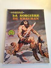 MAI14 ---  comics  aredit artima géant   CONAN la sorcière de KHAURAN