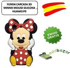 FUNDA CARCASA HUAWEI P9 MINNIE MOUSE SILICONA 3D.ESPAÑA.MÁS EN TIENDA