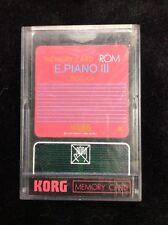 Korg Rom Memory Card E.Piano Iii Sgc-04