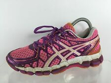 Asics Gel Kayano 20 Womens Pink/Multi Color Athletic Shoes 7