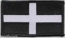 Cornwall County Flag Rectangular Embroidered Patch Badge - SOUTH WEST COMPANY